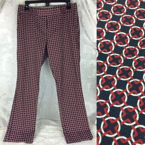 NWOT Banana Republic Geometric Cropped Pants